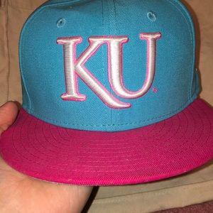 KU Flatbill hat